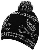 No Fear Kids Skull Hat Junior Boys Fine Knit Snow Winter Warm Accessories
