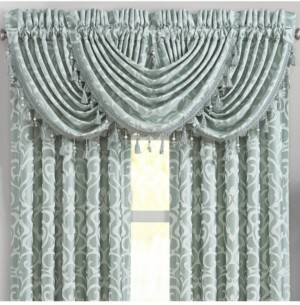 J Queen New York J Queen Lombardi Spa Waterfall Valance Bedding