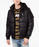 G Star Men's Hooded Puffer Whistler Jacket