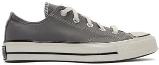 Converse Grey Chuck 70 Low Sneakers