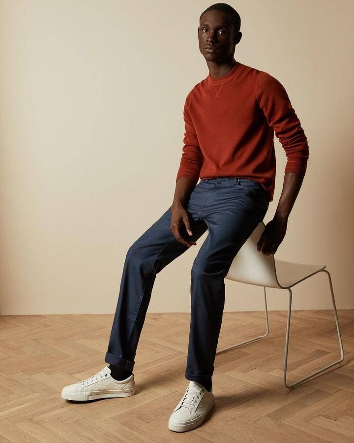 Ted Baker Straight Leg Navy Jeans