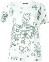 Dolce & Gabbana Garden print T-shirt