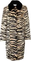 RED Valentino Fur Tiger Print Coat