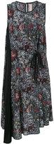 Antonio Marras asymmetric wrap dress - women - Silk/Polyester/Cupro - 42