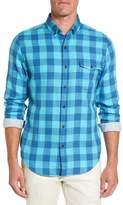 Vineyard Vines Men's Crepe Myrtle Check Tucker Slim Fit Sport Shirt
