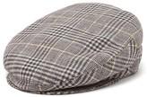 Isabel Marant Gabor Checked Tweed Flat Cap - Womens - Grey