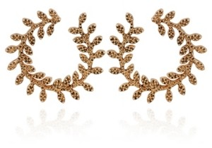 Nanette Lepore Beautifully Berry Hoop Earring