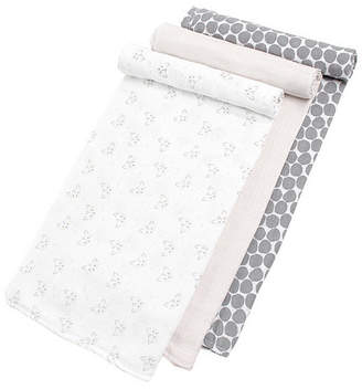 Dream Baby Gertex Snugabye Boys and Girls Swaddle 3 Pack in Giftbox