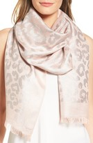 Badgley Mischka Women's Ocelot Jacquard Wrap