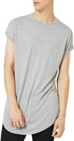 Topman Men's Drop Shoulder Longline T-Shirt