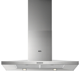 AEG DKB3950M Chimney Cooker Hood, Stainless Steel