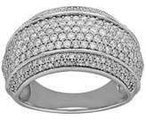 Lord & Taylor Wide 14K White Gold Ring