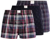 Jockey WOVEN 3 PACK Boxer shorts navy
