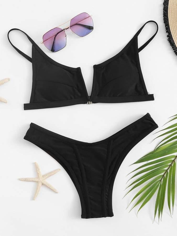 c455321dab V Cut Swimsuit - ShopStyle