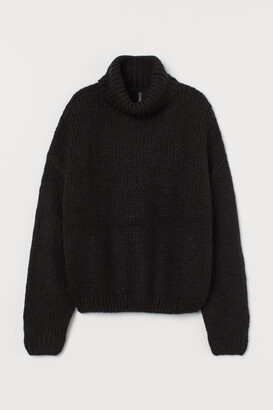 H&M Chunky-knit Turtleneck Sweater