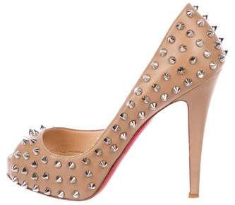 dee432a8342f Christian Louboutin Very Prive - ShopStyle