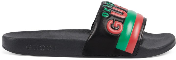 "Gucci Men's ""Original slide sandal"