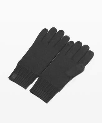 Lululemon Tech and Toasty Knit Gloves