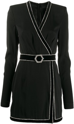 Philipp Plein Luna belted dress