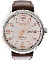 HUGO BOSS 1513333 Pilot Vintage Watch Brown