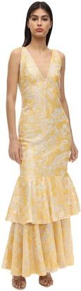 Azulu La Heroica Sequined Dress W/ Ruffles
