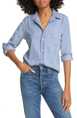 Frank And Eileen Long Sleeve Chambray Button-Up Shirt