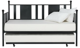 Laurel Foundry Modern Farmhouse Benita Metal Daybed with Trundle Size: Full