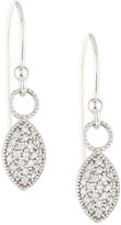 Jude Frances 18K Pave Diamond Marquise Dangle & Drop Earrings