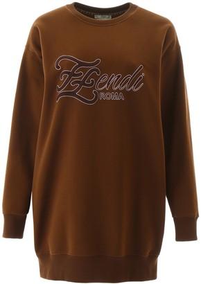 Fendi Logo Karligraphy Sweatshirt