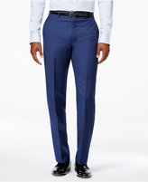 Calvin Klein X-Fit Blue Solid Extra Slim-Fit Pants