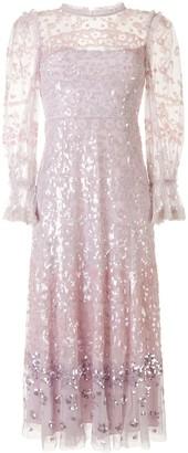 Needle & Thread Sequin Embellished Tulle Dress