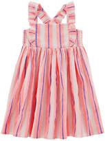 Carter's Sleeveless Stripe A-Line Dress - Preschool Girls