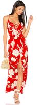 Show Me Your Mumu Leyton Lace Up Maxi Dress
