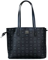 MCM logo print shopper tote - women - Cotton/Polyester/PVC - One Size