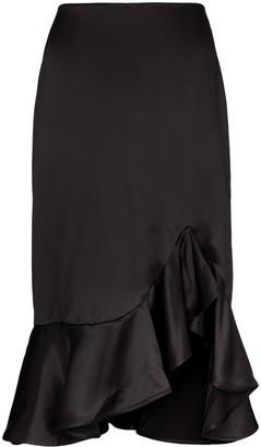 Tom Ford Ruffle-Trimmed Skirt