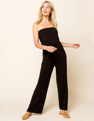 West Of Melrose Day and Night Strapless Wide Leg Jumpsuit