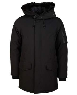 Kenzo Canvas Hooded Winter Parka Colour: BLACK, Size: SMALL