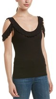 BCBGMAXAZRIA Off-the-shoulder Tank.