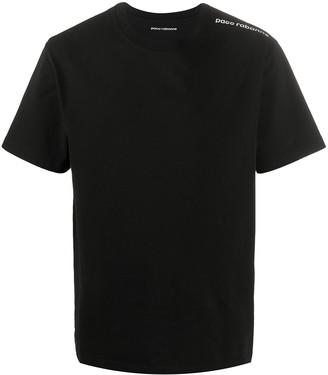 Paco Rabanne logo print cotton T-shirt
