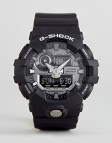 G-Shock G Shock Ga-710-1aer Digital Silicone Watch In Black
