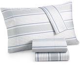 Westport Organic Cotton 300 Thread Count Printed Full Sheet Set GOTS Certified