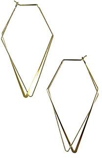 Jules Smith Designs Geometry Hoop Earrings