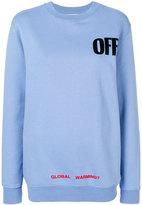Off-White off big sweatshirt