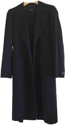 Joseph Navy Wool Coat for Women