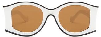 Loewe Paula's Ibiza - Oversized Acetate Sunglasses - White
