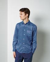 Blue Blue Japan Big Circle Cutover Shirt