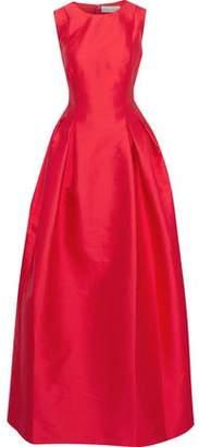 Sachin + Babi Miramarie Pleated Two-tone Taffeta Gown