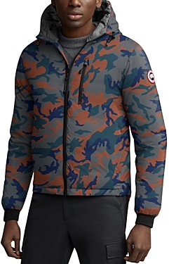 Canada Goose Lodge Hoody Camouflage-Print Down Jacket