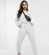 Asos DESIGN Petite tracksuit ultimate sweat / jogger with tie