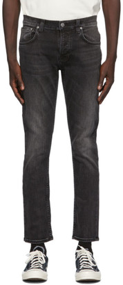 Nudie Jeans Black Grim Tim Jeans